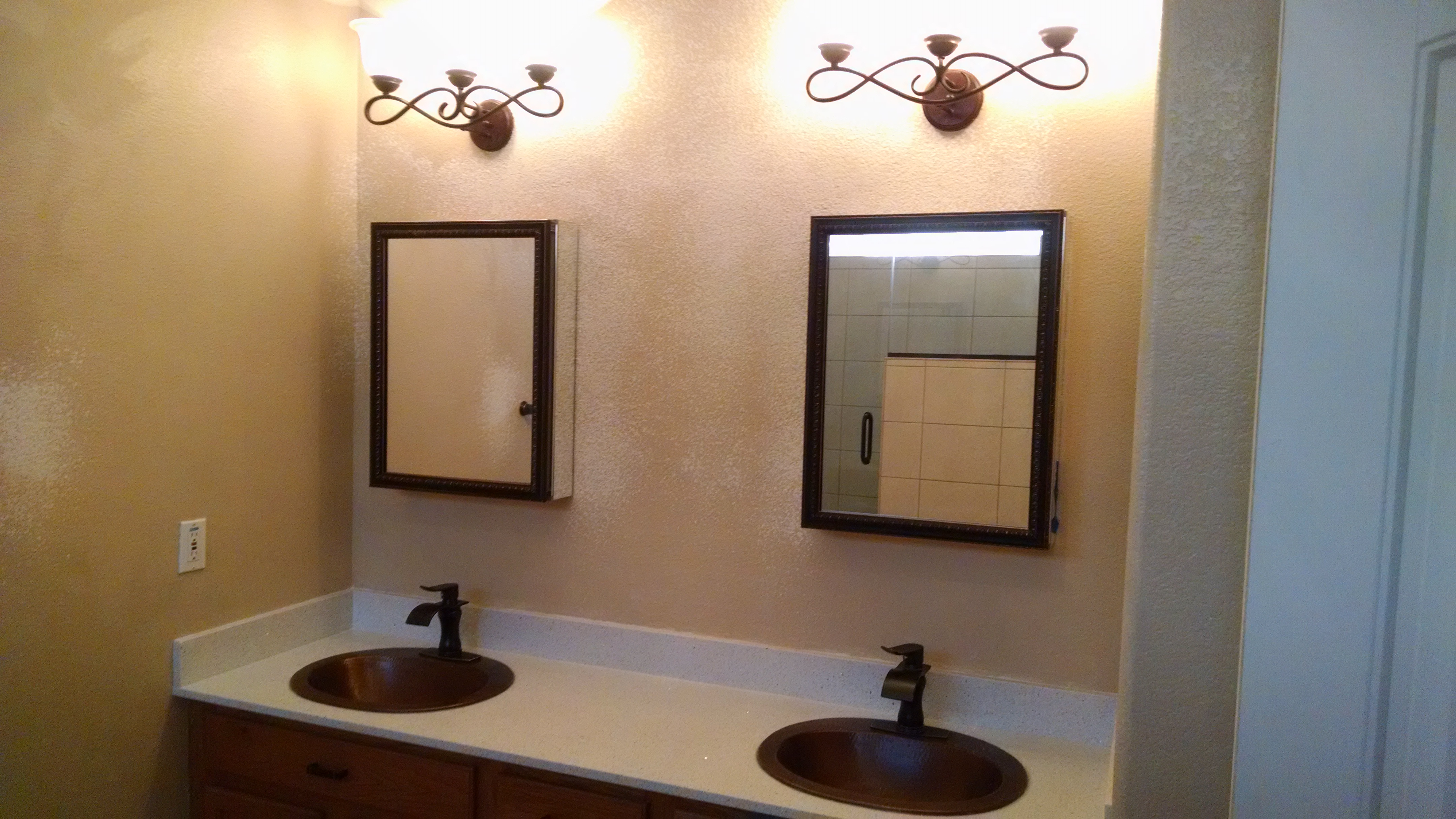 Bathroom Light Fixtures Phoenix home remodeling phoenix - champion remodeling, llc.